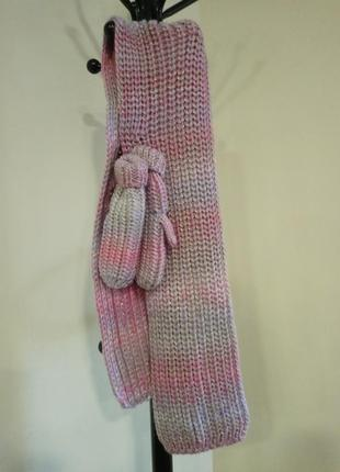 Набор- теплый шарф и варежки для девочки george