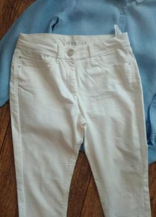 Белые джинсы джеггинсы от m&s2 фото