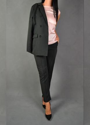 Костюм брючный удлинённый пиджак  брюки