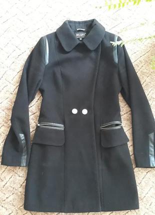 Драповое осенне пальто