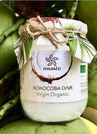 Кокосовое масло organic virgin (сыродавленное) 200 мл (шли-ланка)