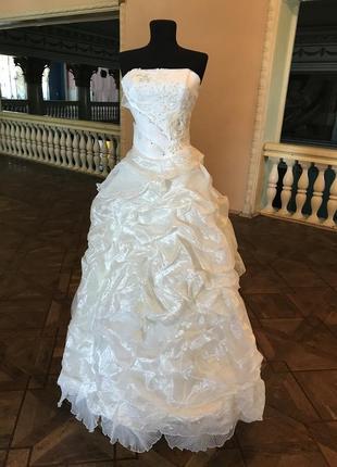 Распродажа. свадебное платье.