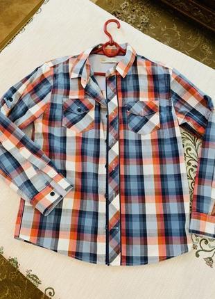 Очень стильная фирменная рубашка 152 см рост