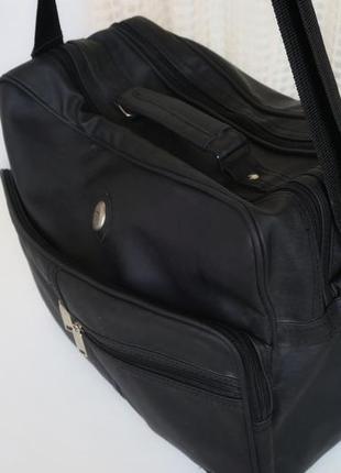 Сумка-портфель, сумка дорожная для ноутбука фирмы metropolis