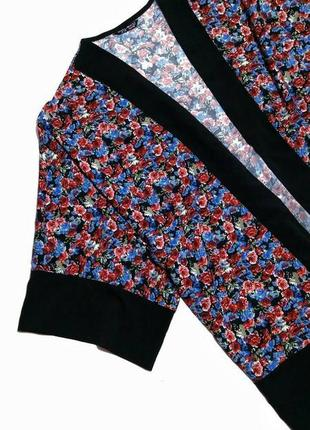 Шифоновая кимоно накидка широкий рукав select