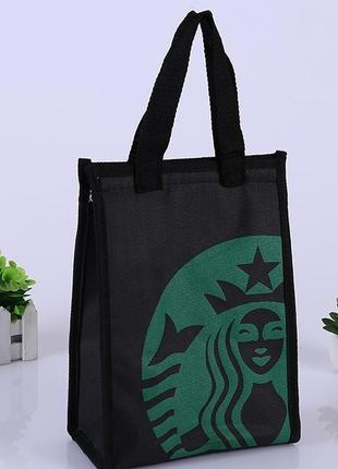 Термо сумка для ланча starbucks