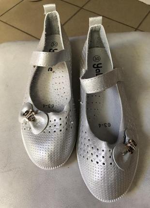 Туфли балетки на девочку