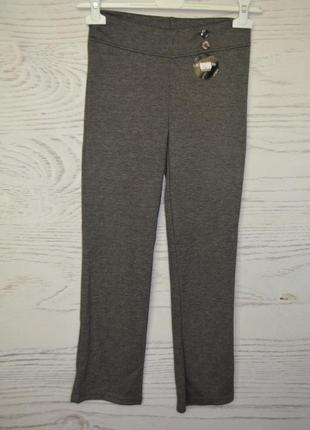 Школьные брюки леггинсы для девочки 8-9 лет  f&f англия
