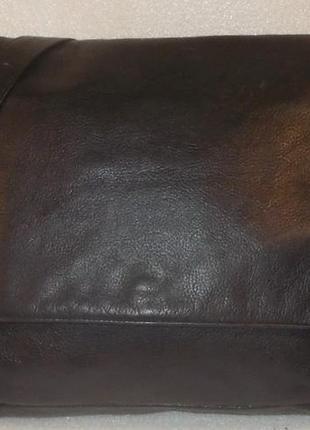 Крупная мужская сумка натуральная кожа