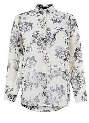New look блуза в цветочный принт