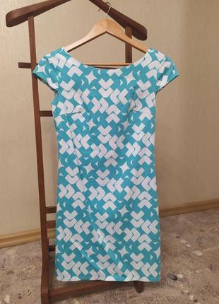 Платье с геометрией