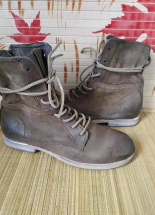 Бомбезні шкіряні черевички airstep