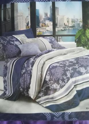 Двуспальные постельные из бязи
