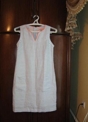 Платье joules, 100% лен, размер m/l