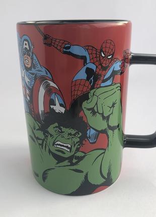 Комикс кружка / чашка от marvel: spiderman, hulk, captain america, ironman, tor !