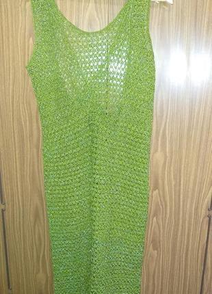 Хенд мейд платье вязаный сарафан ручная работа hand made