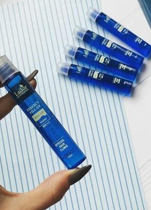 Эффект ламинирования филлеры для восстановления структуры волос lador