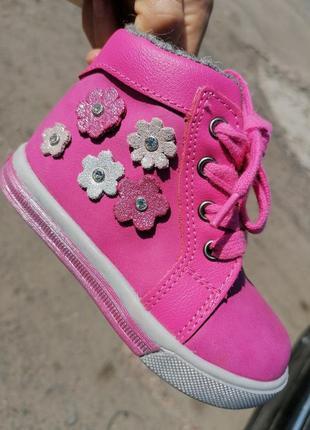 Ботиночки фламинго