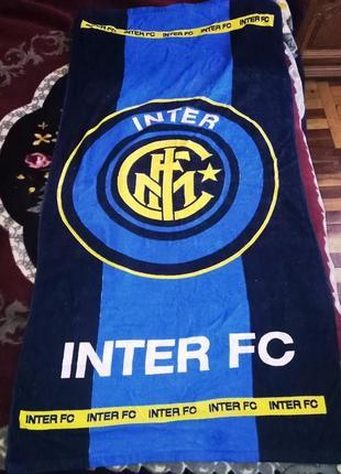 Полотенце с символикой fc inter