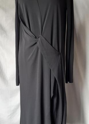 Крутое асимметричное платье с необработанными краями, трансформер от zara, cos