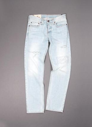 Мужские джинсы слим фит hollister, размер 28