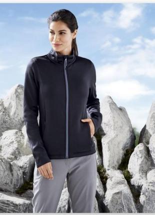 Женская трекинговая куртка, кофта флиска на флисе crivit
