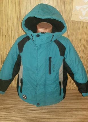 Теплая куртка на 5 лет
