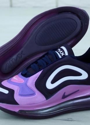 Шикарные женские кроссовки nike air max 720 violet