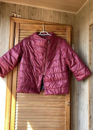 Куртка жилетка ветровка силикон 100 женская новая осенняя
