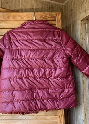Куртка жилетка ветровка силикон 100 женская новая осенняя2 фото