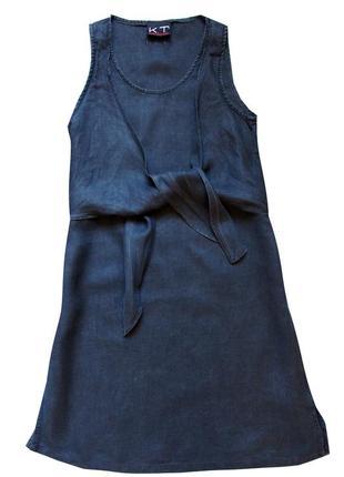 Очень классное льное платье от  klaus thierschmidt {германия}