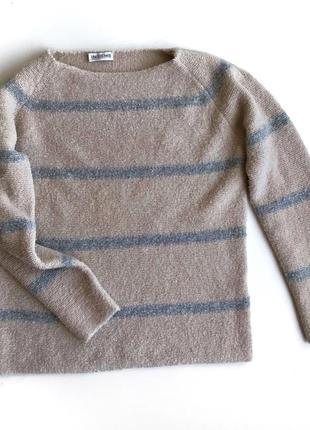 Мягкий шерстяной свитер insieme