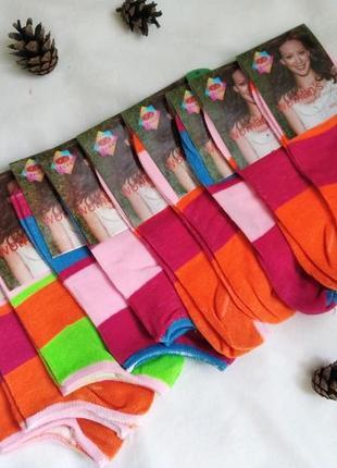 Набор коротких женских носков, 10шт