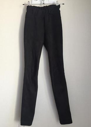 Замшевые штаны легинсы