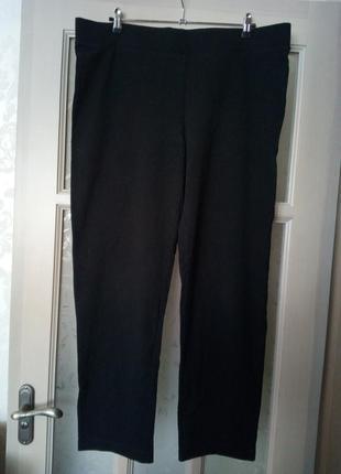 Трикотажные спортивные штаны брюки большого размера