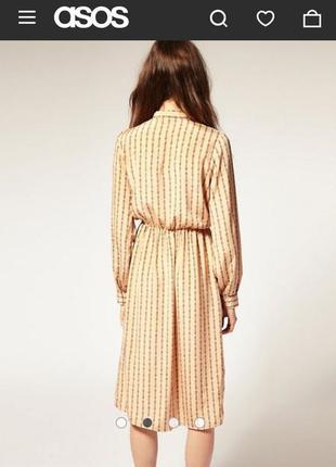 Миди платье рубашка от asos2 фото