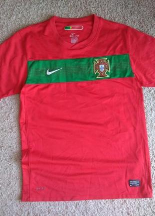 Футболка футбольная сборной португалии portugal nike dri fit