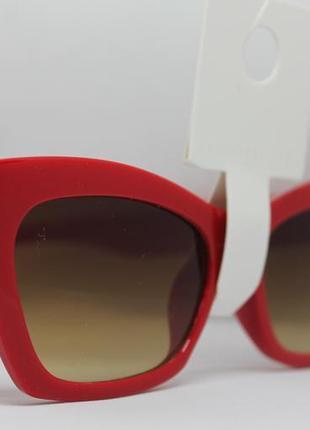 Солнцезащитные красные очки forever 21