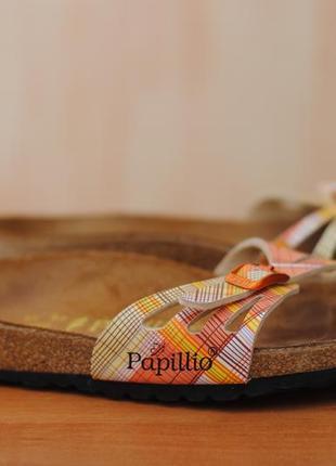 Женские коричневые шлепанцы papillio by birkenstock, 39 размер. оригинал
