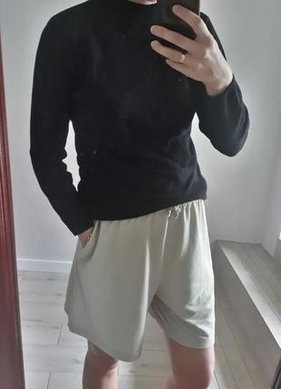 Базовый черный гольф водолазка мягкая водолазка свитер кофта под горло