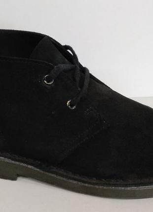 Clarks made in india демисезонные кожаные полуботинки оригинал