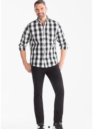 Стильная мужская рубашка в клеточку, clockhouse