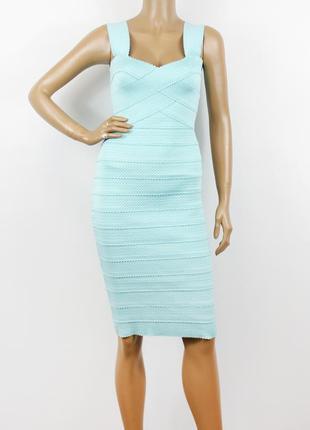 Новое бирюзовое бандажное платье new look5 фото