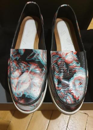 Туфли- слипоны