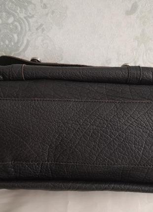 Шикарная большая кожаная сумка issie b, london5 фото