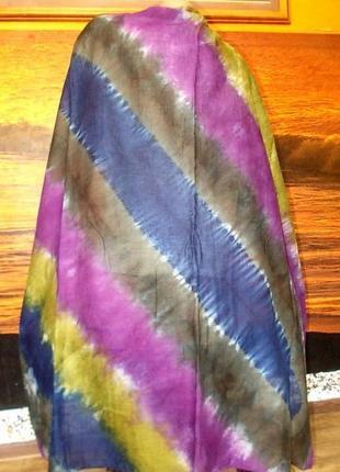 Стильный платок большой размер 103х103см
