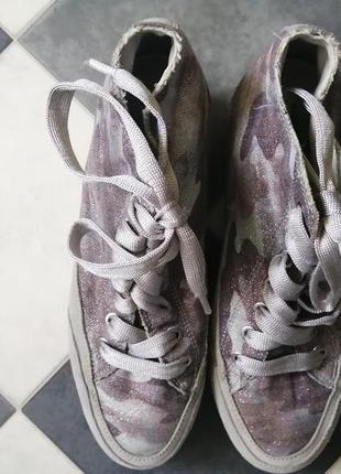 Сникеры сникерсы высокие кроссовки igi&co3 фото