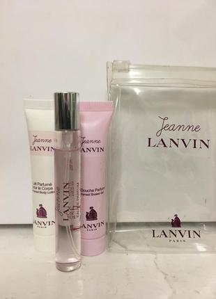 Jeanne lanvin lanvin тревл набор