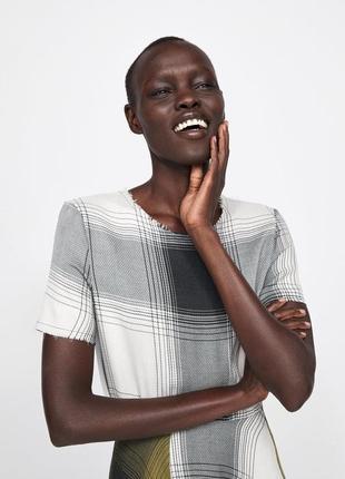 Zara платье в клітку, s5 фото
