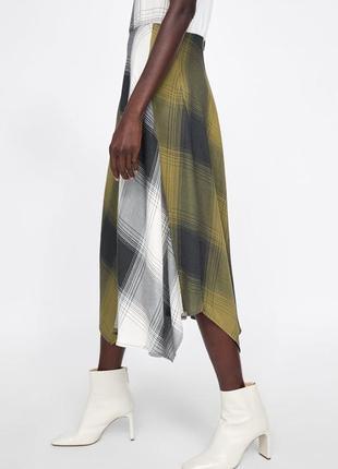 Zara платье в клітку, s6 фото